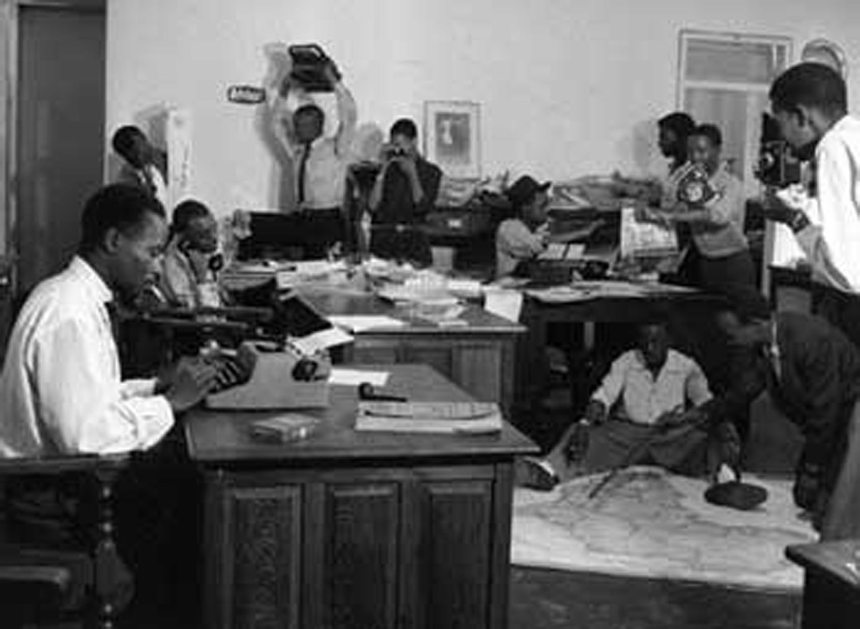 sophiatown in the 1950s What kept non white south africans going going was jazz, poetry and the arts, this was particularly true to those that lived in sophiatown, lady selborne now atteridgeville, and district 6 in cape townduring this era the struggle for freedom was alive and kicking in every aspect of black daily life however they refused to be crushed by laws which prevented them from owning property, taking a walk in the park or around town at night.